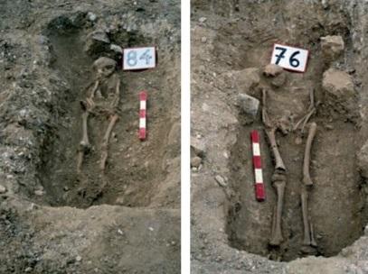 tombes 84 et 76